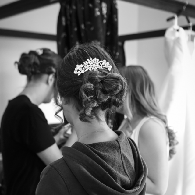 Bridesmaid Hair Up 2