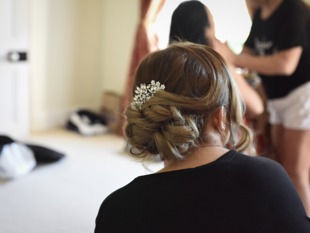 Bridesmaid Hair Up